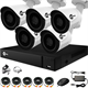 Комплекты видеонаблюдения для дома и дачи