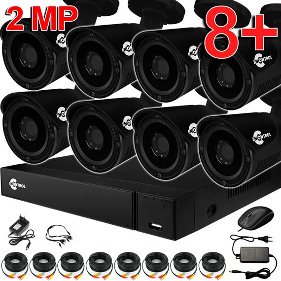 Уличное видеонаблюдение на 8 HD камер для частного дома с возможностью расширения - фото 7198
