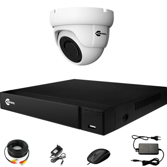 Комплект видеонаблюдения на 1 AHD камеру 2 Мегапикселя - офис, склад, магазин - фото 7487