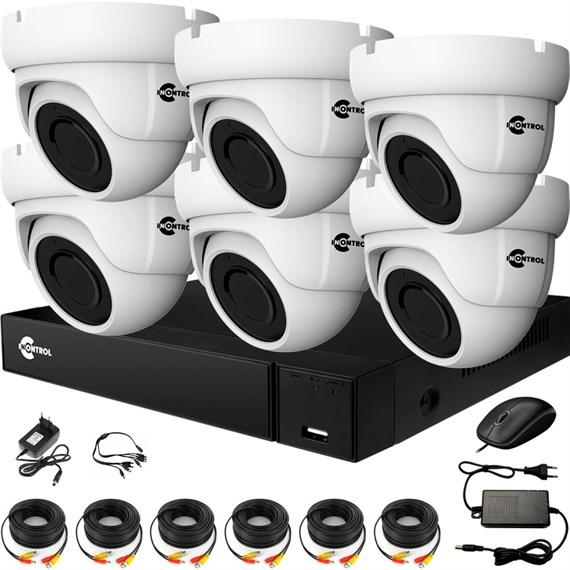 Комплект видеонаблюдения на 6 AHD камер 2 Мегапикселя - офис, склад, магазин - фото 7509