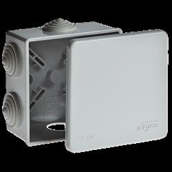 Монтажная коробка для подключения камеры видеонаблюдения 80х80х40мм IP54