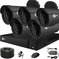 Готовый комплект видеонаблюдения для дома на 5 камер InControl ДОМ-5 2M PRO