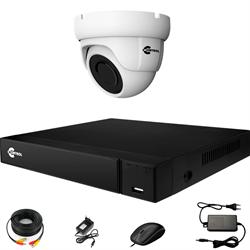 Комплект видеонаблюдения на 1 AHD камеру 2 Мегапикселя - офис, склад, магазин