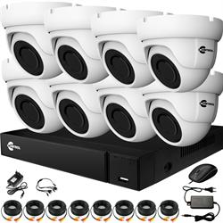 Комплект видеонаблюдения на 8 AHD камер 2 Мегапикселя - офис, склад, магазин