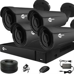 Продвинутый комплект видеонаблюдения для дома на 4 камеры InControl ДОМ-4 5M PRO