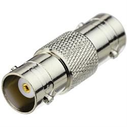 Переходник c BNC (мама) на BNC (мама) для удлинения готового кабеля при подключении AHD камеры