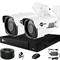 Готовый комплект видеонаблюдения для дома на 2 камеры InControl ДОМ-2 5M PRO-B - фото 7346