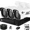 Продвинутый комплект видеонаблюдения для дома на 3 камеры InControl ДОМ-3 5M PRO-B - фото 7348