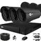 Продвинутый комплект видеонаблюдения для дома на 3 камеры InControl ДОМ-3 2M PRO - фото 7424
