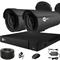 Готовый комплект видеонаблюдения для дома на 2 камеры InControl ДОМ-2 2M PRO - фото 7431