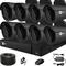 Продвинутый комплект видеонаблюдения для дома на 8 камер с возможностью увеличения - фото 7443