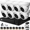 Комплект видеонаблюдения на 8 AHD камер 2 Мегапикселя - офис, склад, магазин - фото 7503